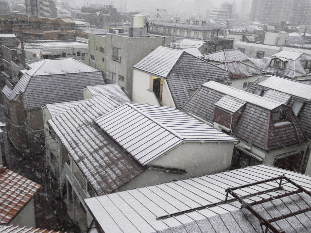 うっすら積雪(AKI)