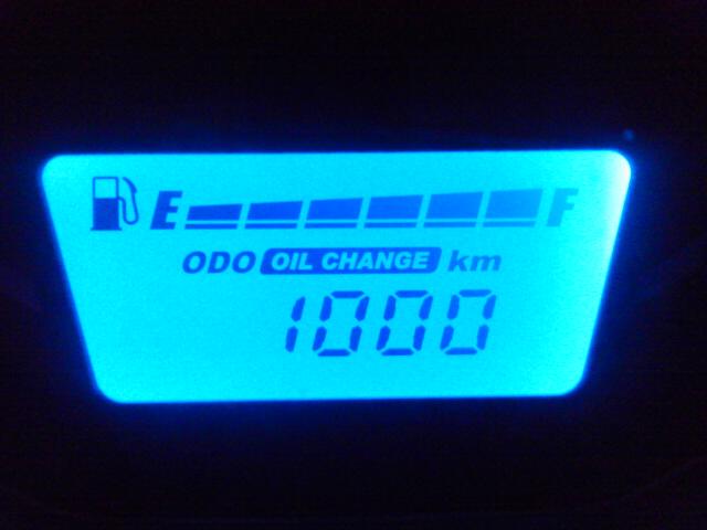 新車1000km<br />  到達(AKI)