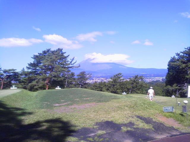 富士山に笠雲(AKI)