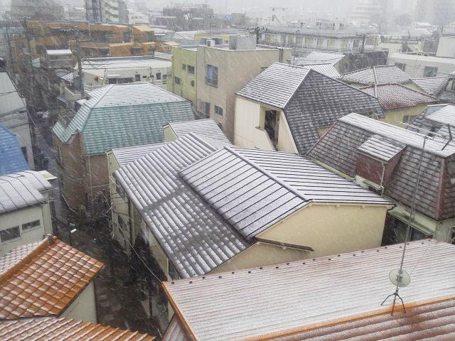 11月に初雪(AKI)