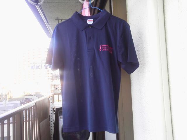 大会スタッフ・ポロシャツ(AKI)